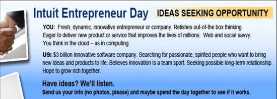 Intuit Entrepreneur day