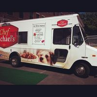 Doggie food truck
