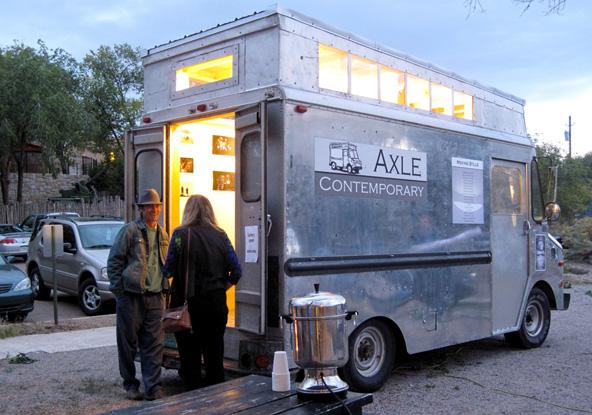 Axle art truck