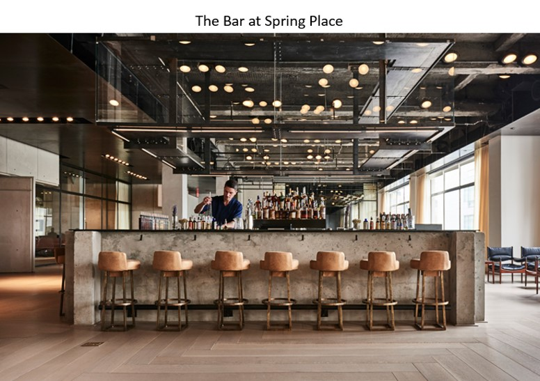 Bar sprng place