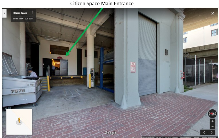 Citizen space main entrance