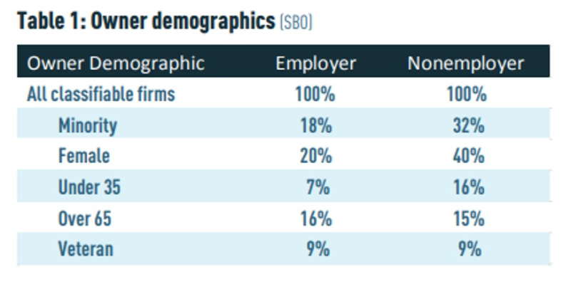 SMB owner demographics
