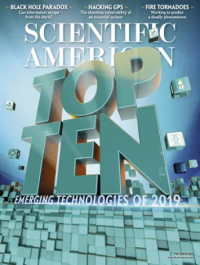 Scientific american's tech list 2019