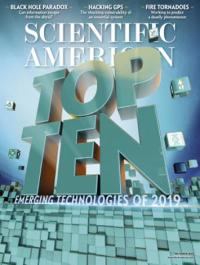 Scientific american's tech list 2019